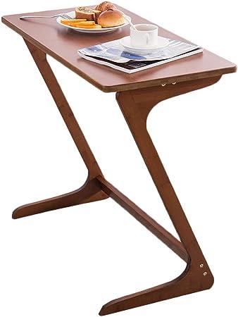 Mesas auxiliares Mesa auxiliar lateral, mesa de café en forma de Z, mesita de noche, mesita