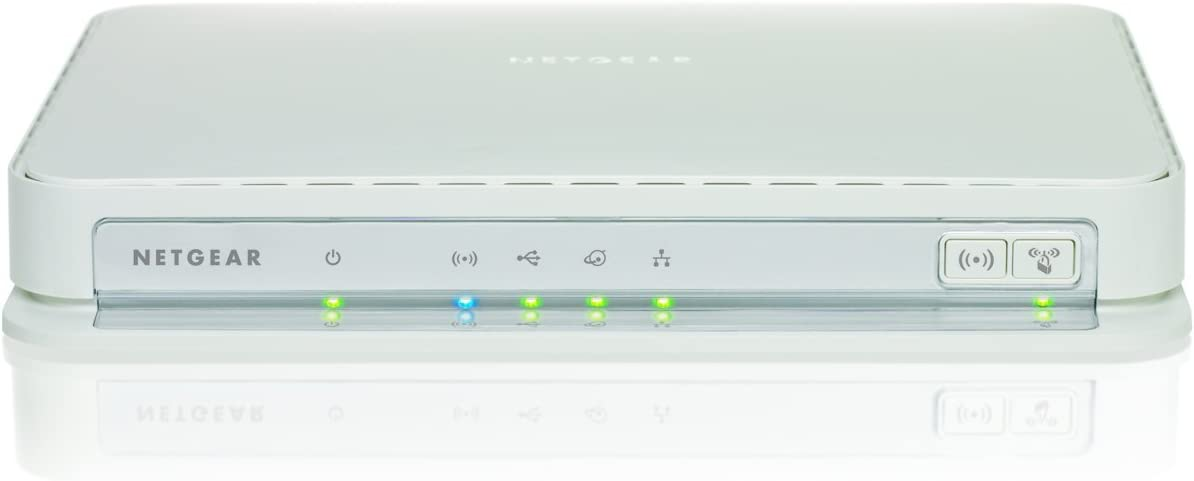 NETGEAR N600 Dual Band Wi-Fi Gigabit Router for Mac and PC (WNDRMAC)