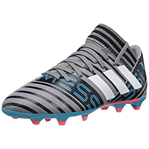 Adidas Performance Boys' Nemeziz Messi 17.3 FG J,Grey/White/core Black,5.5 M US Big Kid