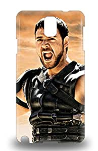 Sanp On 3D PC Case Cover Protector For Galaxy Note 3 Dreamworks Gladiator Action War Romance ( Custom Picture iPhone 6, iPhone 6 PLUS, iPhone 5, iPhone 5S, iPhone 5C, iPhone 4, iPhone 4S,Galaxy S6,Galaxy S5,Galaxy S4,Galaxy S3,Note 3,iPad Mini-Mini 2,iPad Air )