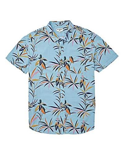 BILLABONG Sundays - Camisa de Manga Corta para niño - Azul - Small ...
