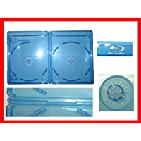 12.5 mm Viva Elite Blu-Ray Double Case Box Standard Size Hold 2 Discs (Pack of 6)