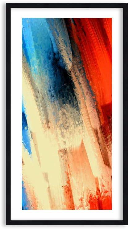 Imagen en un Marco de Madera de Color Negro - Imagen en un Marco - Cuadro sobre Lienzo - Impresión en Lienzo - 55x100cm - Foto número 4087 - Listo para Colgar - en un Marco - F1BPA55x100-4087