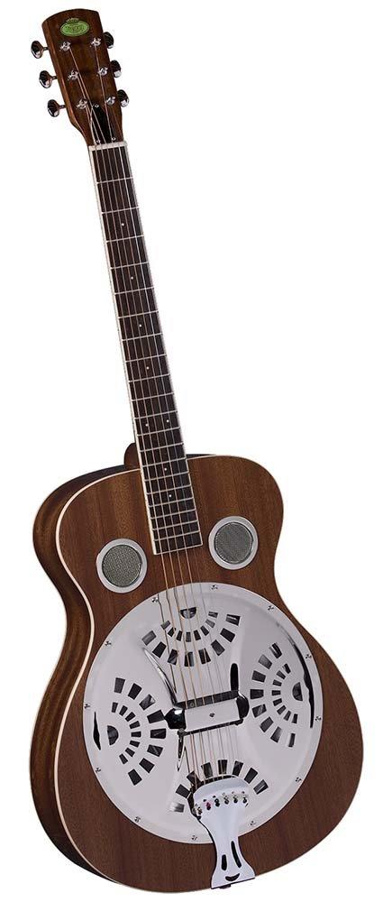 Regal RD-30M Studio Series Roundneck Resophonic Guitar - Natural Mahogany by Regal Resophonic Guitars