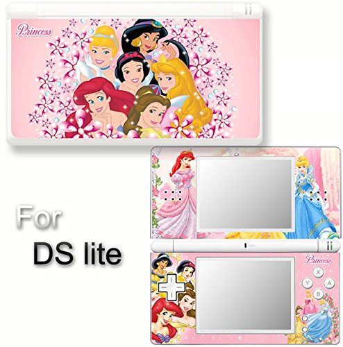 (Princess Pink SKIN VINYL STICKER for Nintendo DS Lite)