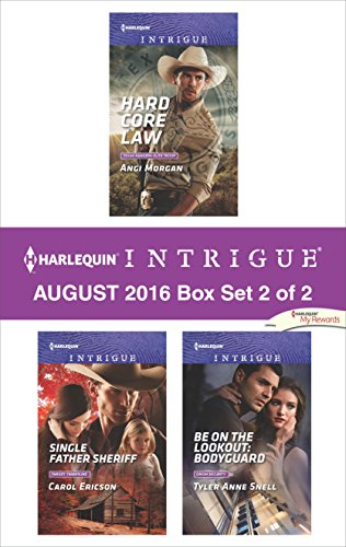 book cover of Harlequin Intrigue August 2016 - Box Set 2 of 2