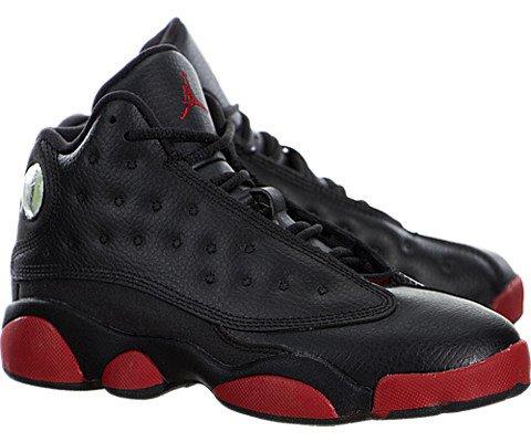 Nike Air Jordan Retro 13 (BP) Black Gym Red Size 2Y