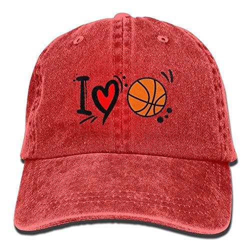 for I Cowboy Men Cap Love Basketball Hats Sport Hat Women Denim Skull Cowgirl wHxcvq