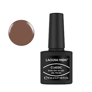 Amazon.com : Lagunamoon Gel Nail Polish Soak Off Gel Polish UV LED Nail Art Manicure Varnish - Dulce De Leche : Beauty