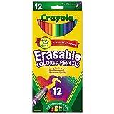 Crayola 68-4412 12 Piece Erasable Colored Pencils - 2 Pack