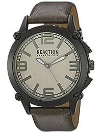 Kenneth Cole REACTION Men's 10030950 Sport Analog Display Japanese Quartz Grey Watch