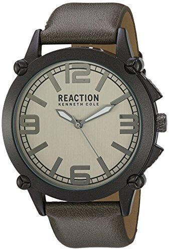 Kenneth Cole REACTION Men's 'Sport' Quartz Metal Casual Watch, Color:Grey (Model: 10030950)