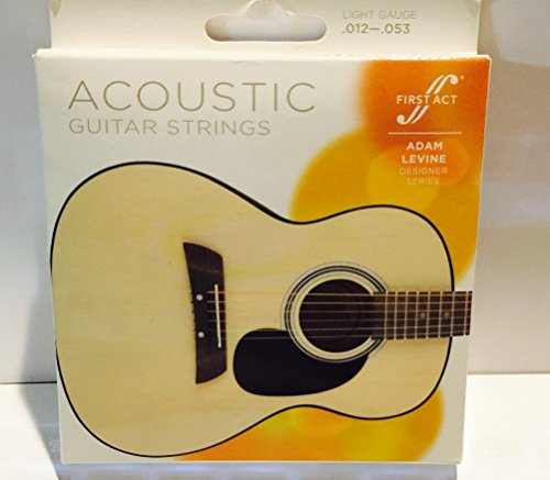 First Act Adam Levine Designer Series Acoustic Guitar Strings