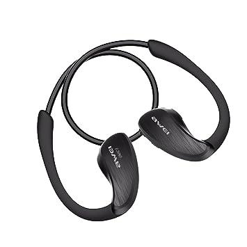 sharplace Awei a885bl inalámbrico IPX4 impermeable de los deportes Auricular Bluetooth estéreo Música auriculares manos libres auricular con micrófono y ...