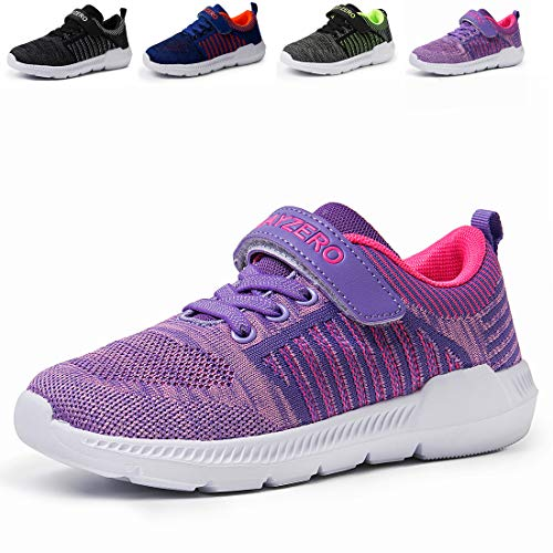 (Vivay Kids Tennis Shoes Breathable Athletic Running Sneakers for Boys & Girls)
