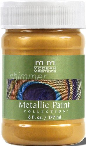 Modern Masters ME200-06 Metallic Pale Gold, - Finish Faux Spray
