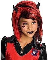 Girls Devilish Wig - Child Std.