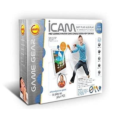 iCam, First Learning In Motion Game Console System For Your Child: Toys & Games