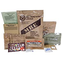 MRE (Meals Ready-to-Eat) Genuine US Military Surplus w/ Menu Selections, 13 Cheese Tortellini