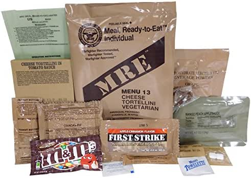 Cheese Tortellini MRE Meal - Genuine US Military Surplus Inspection Date 2020 and Up