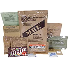 MRE (Meals Ready-to-Eat) Genuine US Military Surplus w/Menu Selections, 13 Cheese Tortellini