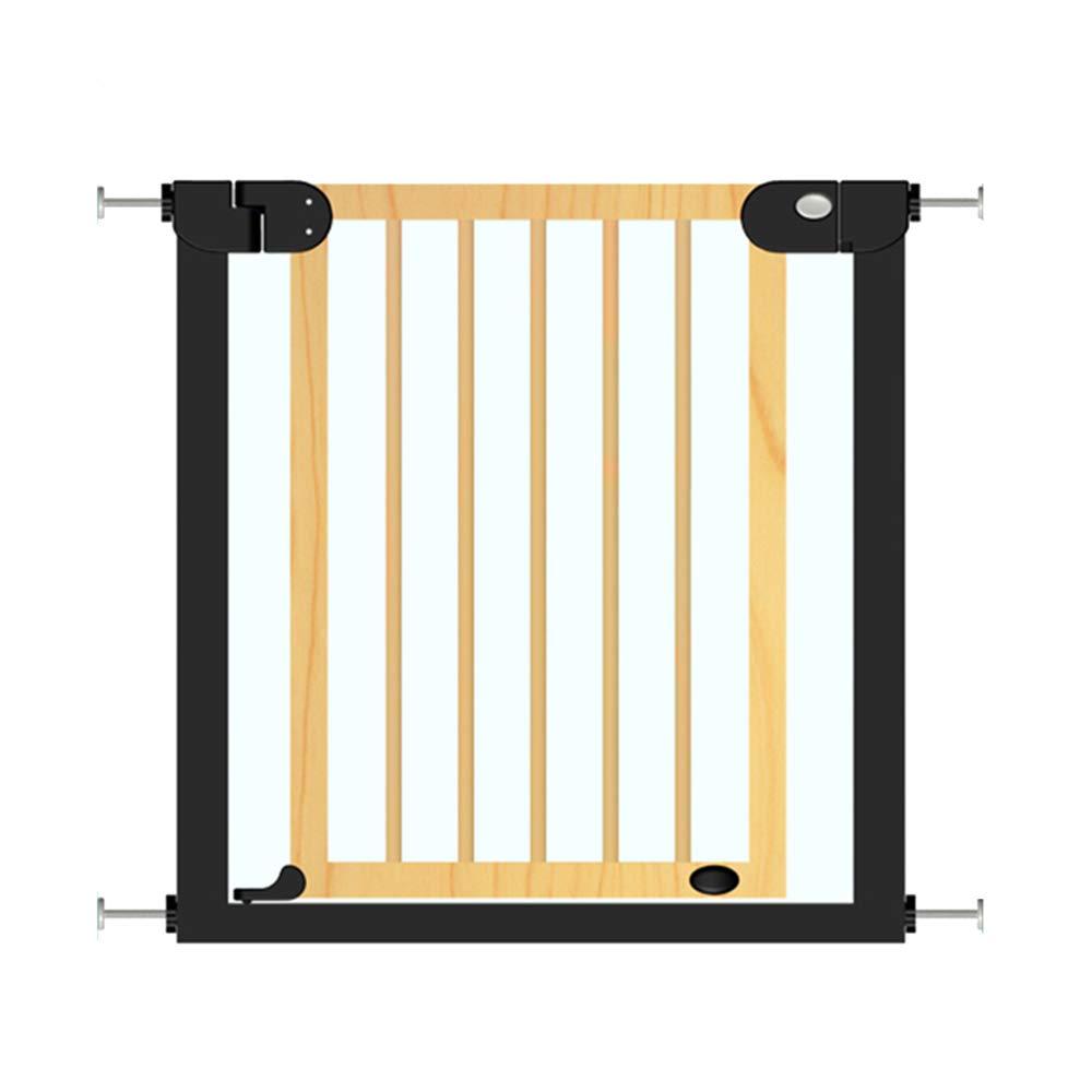 LHA ベッドガードフェンス 階段の手すり子供の安全のゲートバーソリッドウッドベビーフェンスキッチンフェンスフェンスドア   B07GX9F9WV