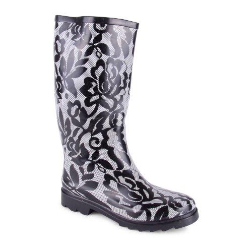 Footwear Sensation - botas de nieve de sintético mujer, color multicolor, talla 35