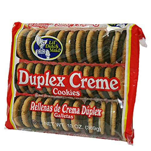 (Pack of 12) Lil Dutch Maid Duplex Crème Sandwich Cookies, 13oz