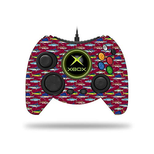 MightySkins Skin Compatible with Microsoft Xbox One Hyperkin Duke Controller - Saltwater Collage | Protective, Durable, and Unique Vinyl Decal wrap Cover | Easy to Apply and Remove | Made in The USA