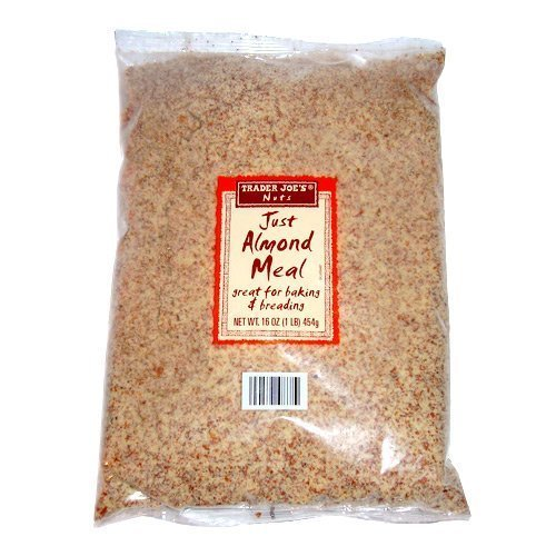 Trader Joe's Just Almond Meal (1 lb) (Pack of 2)