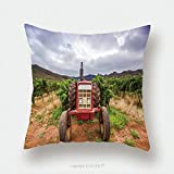 Custom Satin Pillowcase Protector Tractor In A Vineyard Robertson South Africa 565023046 Pillow Case Covers Decorative