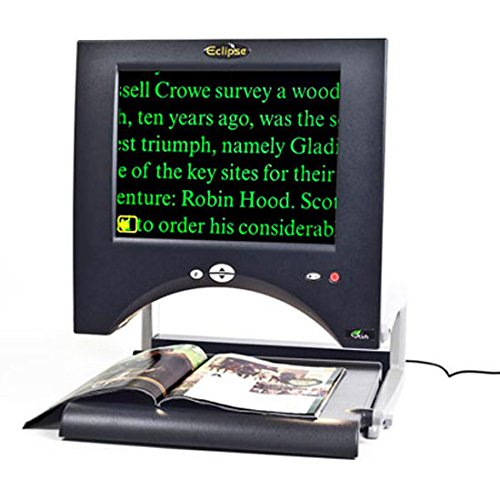 Eclipse Touch 15 Inch LCD Screen- Video Magnifier - magnification from 1.5x-50x- autofocus for clear, sharp text and images ()