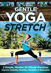 This simple, gentle yoga inspired program is designed to help you begin or resume a regular yoga practice without having to go to extremes (or to the gym or yoga studio). Stretch in the privacy and comfort of your home any time you like with ...