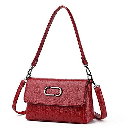 Bag Simple Bag Shoulder A Handbag Lady Messenger Casual Fashion Leather Fashion Fashion Generous ABq1YPw