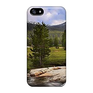 High-quality Durability Cases For Case Iphone 5/5S Cover(river Mountains Ca)