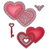 Spellbinders S5-204 Shapeabilities Lace Hearts Die Templates