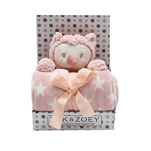 Finance Plan Baby Infants Soothing Blanket Cute Animal Monkey Bear Plush Stuffed Doll Toys
