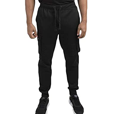 6e95371354b36 Men Gym Fashion Sport Pants Fitness Workout Running Trousers Elasticated  Stretch Waist Band Sweatpant Cargo Pants