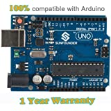 SunFounder New Uno R3 For Arduino ATMEGA328P ATMEGA16U2 2012 Version