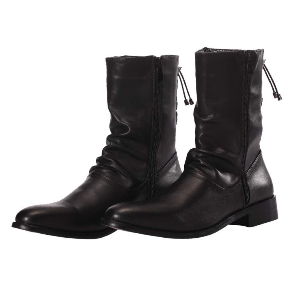 WDYY Herren Stiefel Militär Stiefel Herren Martin Stiefel Wies Männer Schuhe