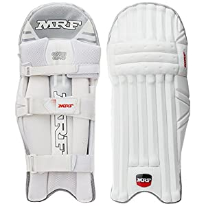 MRF Grand Batting Pads, Men's, White
