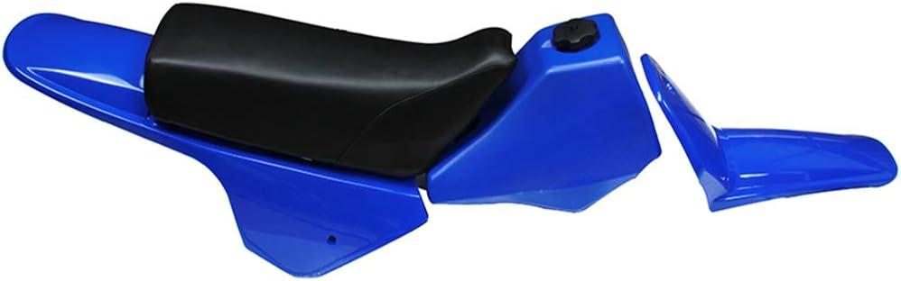 Verkleidung Kunststoff Gastank Kit Heckkotflügel Yamaha Pw80 Pw 80 Blau Auto