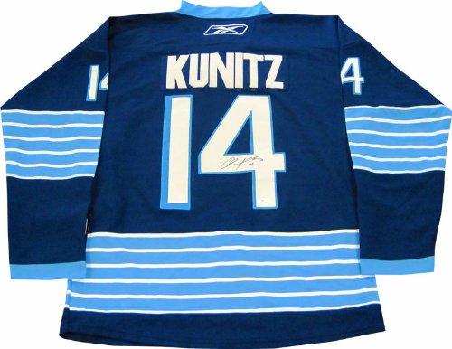 (Chris Kunitz Autographed Pittsburgh Penguins Winter Classic Jersey (JSA))