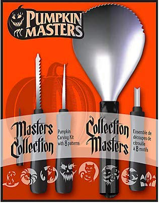Pumpkin Masters Master Collection Pumpkin Carving Kit with 8 Patterns