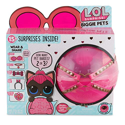 Up to 65% Off L.O.L. Surprise! Items – Biggie Pet Spicy Kitty Only $13.99 (Was $39.99) and More