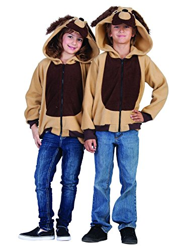 - RG Costumes 40509-S Funsies' Devin The Dog Hoodie, Child Small/Size 4-6