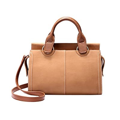 Bolsos de dama Bolso bandolera Bolso Messenger bolso ambiente de moda PU retro bolso de hombro bolso de gran capacidad (Color : YELLOW): Belleza