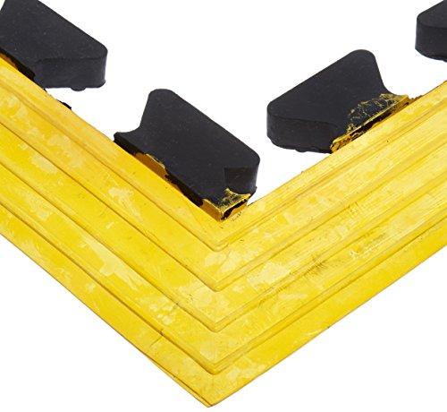 ort Quad Drain Thru Mat with Yellow Corner Piece, 8