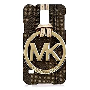 Samsung Galaxy S5 Case TPU,The Michael Kors MK Luxury Black Print Phone Case,The Phone Case Cover For Samsung Galaxy S5