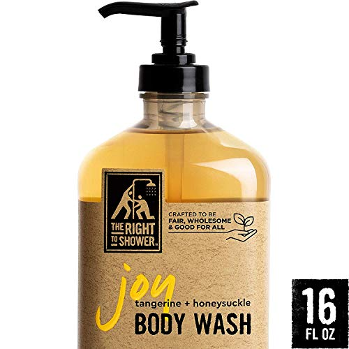 The Right To Shower Sulfate Free Body Wash, Joy, 16 Ounce (Best All Natural Body Wash)